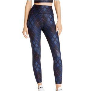 Aqua athletic sports bra and leggings set